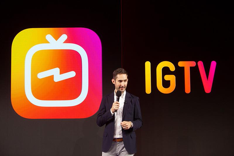 IGTV запуск видеосервиса